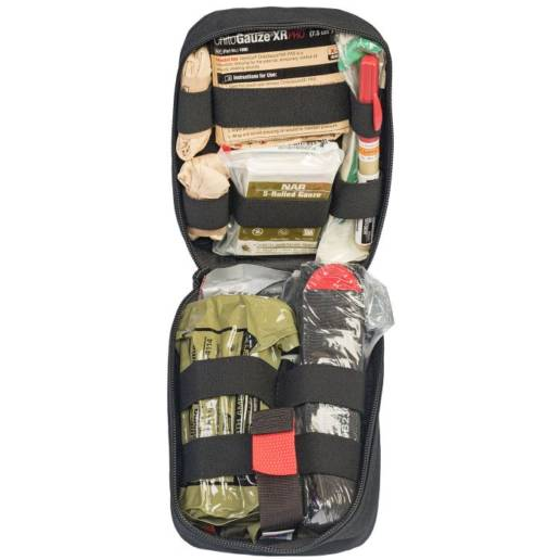 life saving items inside of TORK medical kit