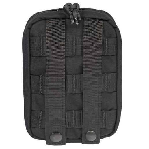 back of medical kit in black