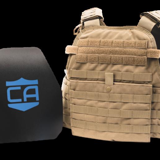 Caliber Armor AR550 Level III+ Body Armor